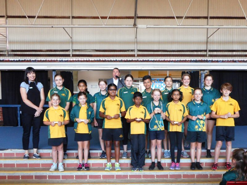 2018 Student Leaders hand over to 2019 Leaders
